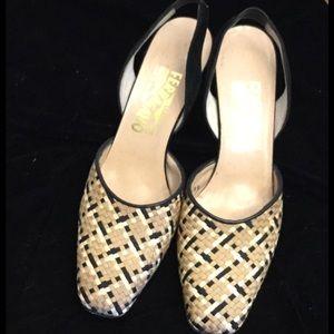 Women's Salvatore Ferragamo Heels Size 8.5AA